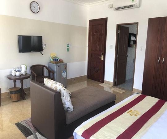 Phòng Đơn Tiêu chuẩn với Tầm nhìn ra Biển (Standard Single Room with Sea View)
