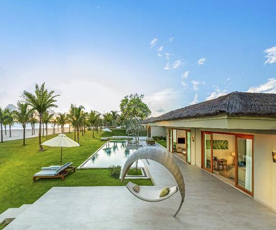 Villa biển lớn 5 phòng ngủ có hồ bơi - Bao gồm tất cả trị liệu Spa