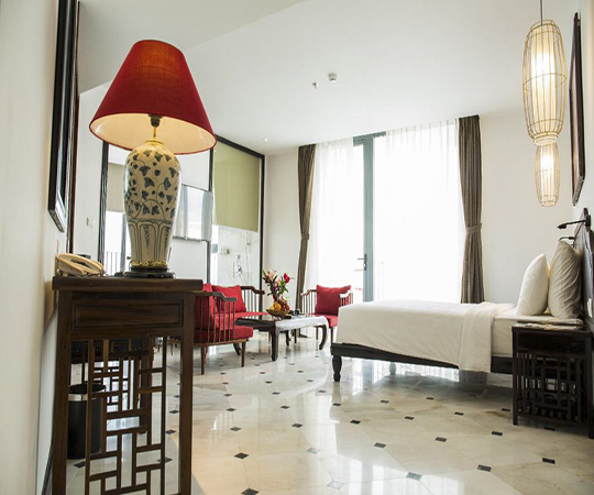 Phòng Premier Deluxe hướng biển (Premier Deluxe Sea View Room)