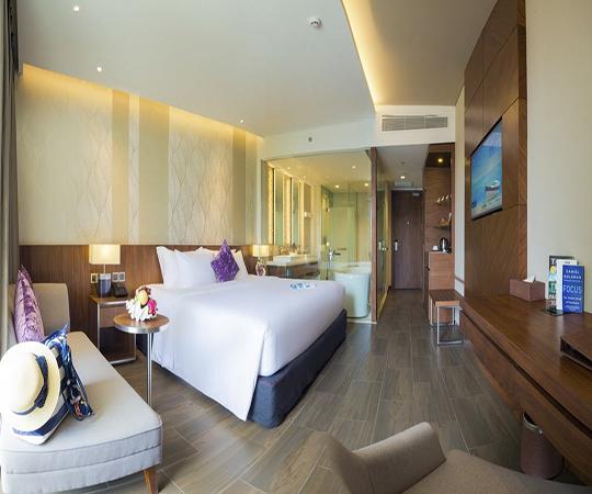 Phòng giường đôi Hướng phố (Double Room with City View)
