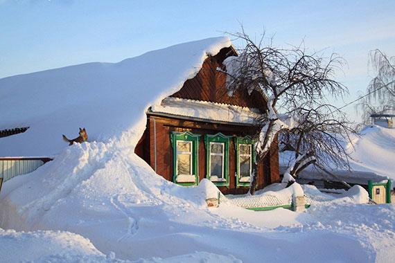 Thắng cảnh mùa đông Nga