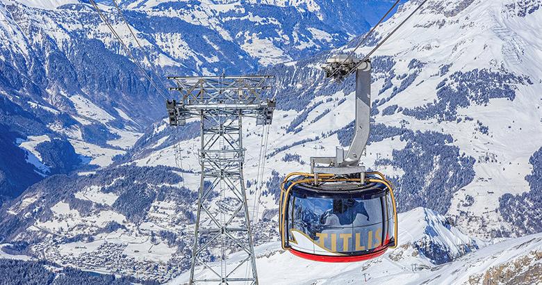 Cáp treo Đỉnh Núi tuyết Titlis